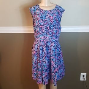 Boden floral dress nwt size 16